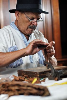 Zigarrenherstellung